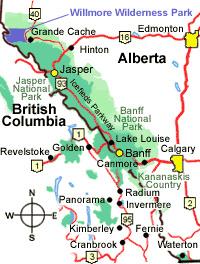 Willmore Wilderness Park, Rocky Mountains, Alberta, Canada